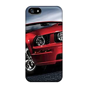 JoanneOickle Iphone 5/5s Anti-Scratch Hard Phone Case Allow Personal Design Nice Ford Mustang Pictures [xwj13897okJe]