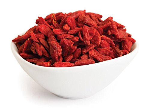 Goji Berry - Loose Berries from 100% Nature (BULK) (10 lbs) by Nature Tea