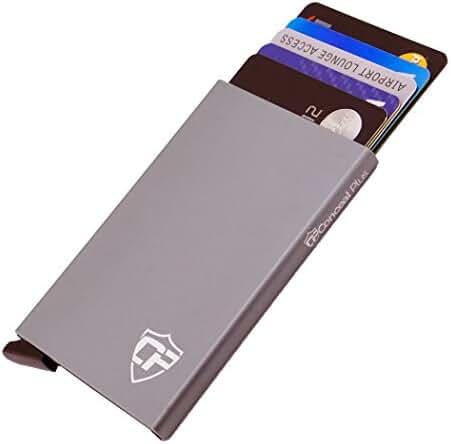 Card Blocr Credit Card Holder | RFID Blocking Metal Credit Card Holder | Slim Front Pocket Design Wallet | 100% Satisfaction Risk-Free