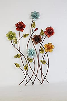 Long Stemed Petunias Floral Wall Art
