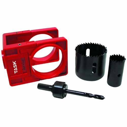 or Lock Installation Kit with High Carbon Steel Hole Saw Blades ()