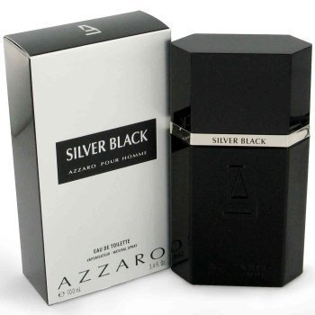 Azzaro Silver Black by Loris Azzaro for Men - 3.4 oz Eau de (Silver Black Eau De Toilette)