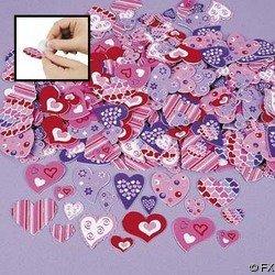 Fun Express Foam Adhesive Hearts (Original Version) ()