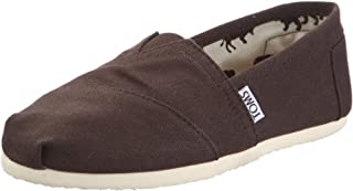TOMS Womens Classic Canvas Slip On Casual Shoe, Chocolate, US 6.5 (B004DCAPKQ) | Amazon price tracker / tracking, Amazon price history charts, Amazon price watches, Amazon price drop alerts