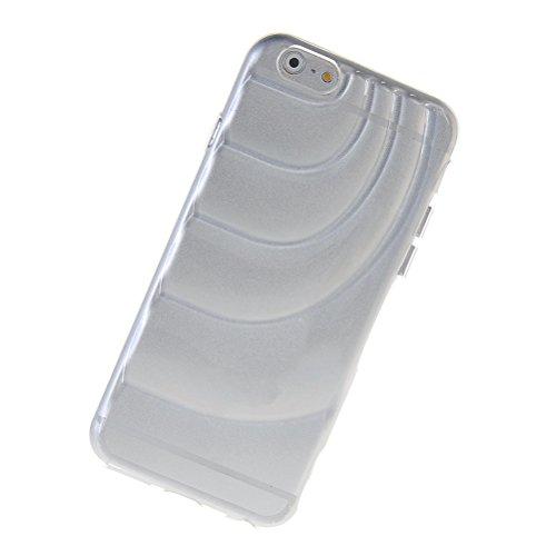 MOONCASE TPU Silicone Housse Coque Etui Gel Case Cover Pour Apple iPhone 6 Plus Claire