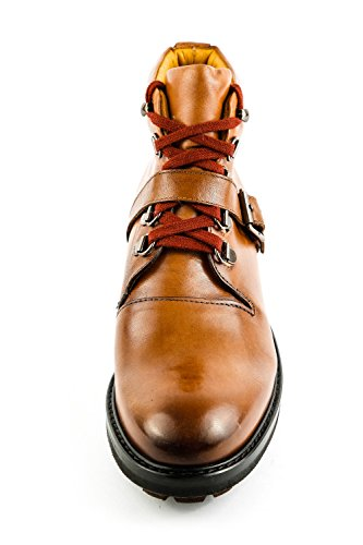 Women's Brown Crip Amelie Strap Ash Hamilton Tan Crust Ankle 22 Melvin Brown Boots amp; OISZqZ