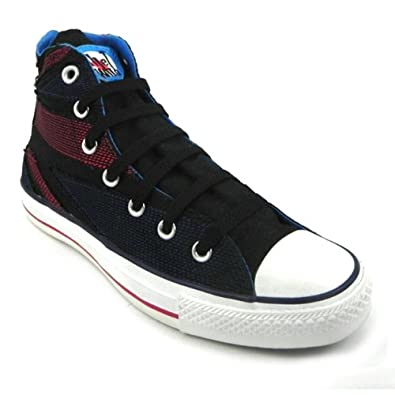 26d10e7ed5 Converse 117368 The WHO Union Jack Unisex Plimsolls Lace Up Trainers:  Amazon.co.uk: Shoes & Bags
