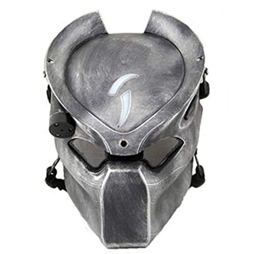 TSenTr Full Protective Face Mask for Halloween Masquerade Party Cosplay -