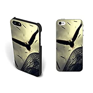 Cool Animal Print For Ipod Touch 5 Case Cover Eagle Dive Flying Feather Hard Plastic For Ipod Touch 5 Case Cover Case Skin Protective Personalized for Boys