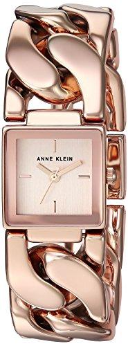 Anne Klein Women's Quartz Metal and Alloy Dress Watch, Color:Rose Gold-Toned (Model: AK/2664RGRG)