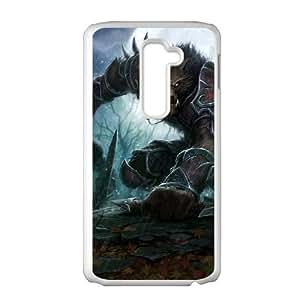 wow cataclysm worgen LG G2 Cell Phone Case White 53Go-244639