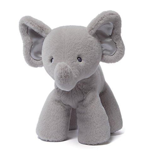 Gund Baby Bubbles Elephant Plush, Gray, (Baby Gund Elephant)