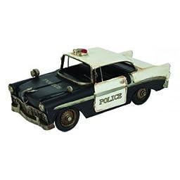 Vintage Police Car Model