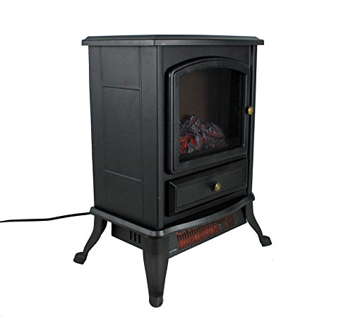 Warm Living 1000w Electric Infrared Space Stove Fireplace