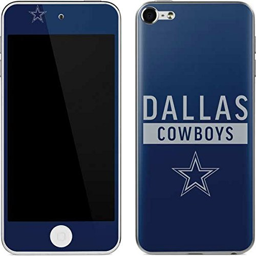 Skinit NFL Dallas Cowboys iPod Touch (6th Gen, 2015) Skin - Dallas Cowboys Blue Performance Series Design - Ultra Thin, Lightweight Vinyl Decal Protection