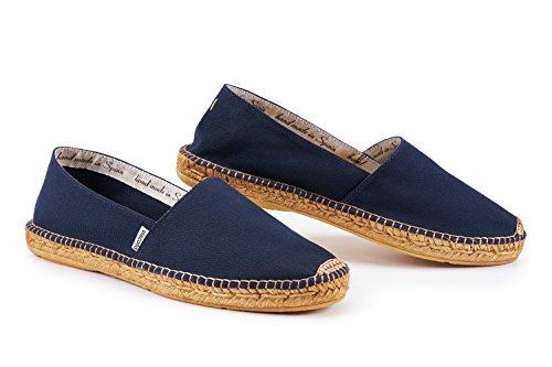 VISCATA Mens Sitges Canvas Authentic and Original Espadrilles Made in Spain Navy LLUny