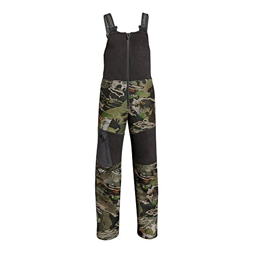 Under Armour Boys Mid Season Bib, Ua Forest Camo (940)/Black, Youth - Youth Clothes Hunting