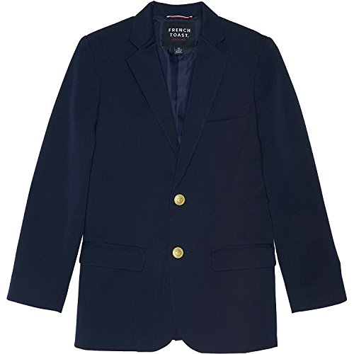 French Toast School Uniform Boys Classic School Blazer, Navy, 7