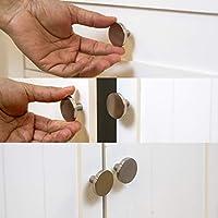 Dresser Knobs for Dresser Drawer Knobs and Pulls Knobs and Pulls Handles 1.22 Diameter BINO 6-Pack Cabinet Knobs 31mm Brushed Nickel