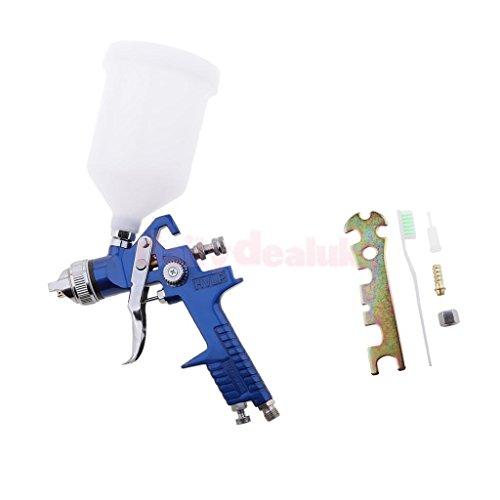 FidgetFidget Air Spray Paint Gun Car Auto Gravity and 1.7mm Nozzle 600ml Cup Capacity Kit by FidgetFidget