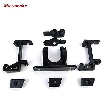 Micromake Piezas de la impresora 3D Delta piezas de extrusora de ...