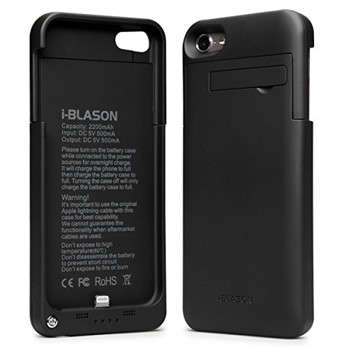 buy online 1b454 f7dcf i-Blason Power Glider iPod Touch 5th 6th Generation iTouch 5 6 Rechargeable  External Battery Slider Full Protection Case with Apple New 8 Pin ...
