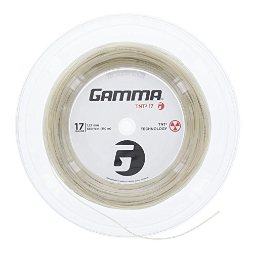 Gamma Tnt2 Reel - Gamma Sports 16g TNT2 Tennis String Reel, 360', Natural