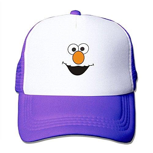 Noble Shop Sesame Street Character Face Mesh Hat -