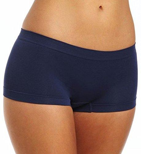 Coobie Women`s Boy Short One Size Style 9008 (Navy)