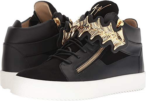 Giuseppe Zanotti Men's May London Gold Bar Sneaker for sale  Delivered anywhere in USA
