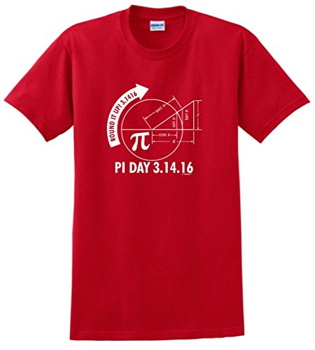 2016 3 1416 Round Graph T Shirt