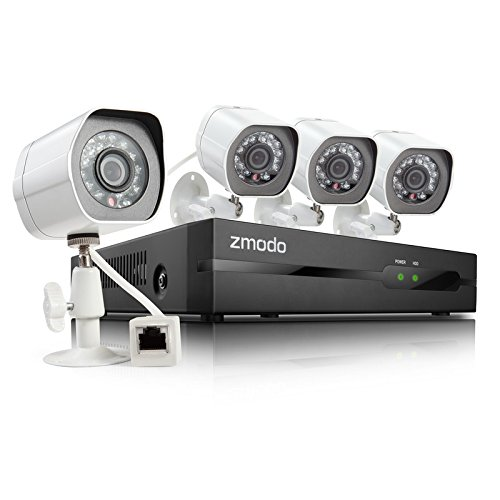 ZP-KE1H04-S-1TB HDD sPoE Security System with 4 HD 720P Indo