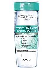 Agua Micelar Loreal Paris Efeito Matte, 200Ml, L'Oréal Paris