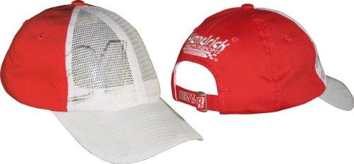 - Jeff Gordon #24 Diva Adjustable Mesh Front Men's Hat - Red (One Size)