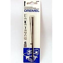 "DRE16448 Dremel 5"" Plain End Scroll Saw Blades 11.5 Teeth Per Inch (5 Pack) #16448"