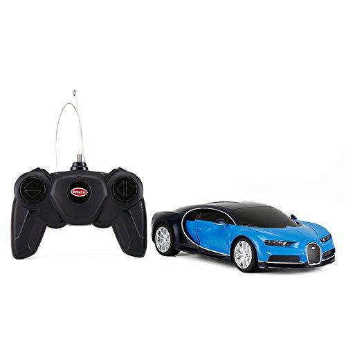 1 24 Scale Bugatti Chiron Radio Remote Control Model Car R C Licensed Product Toy Car Rc  Blue Black