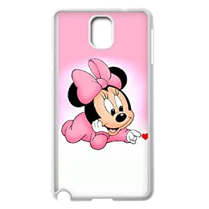 Samsung Galaxy Note 3 Cell Phone Case White Disney Mickey Mouse Minnie Mouse WK5262158