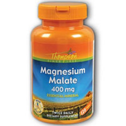 (Magnesium Malate 400mg, 120 tab ( Multi-Pack))