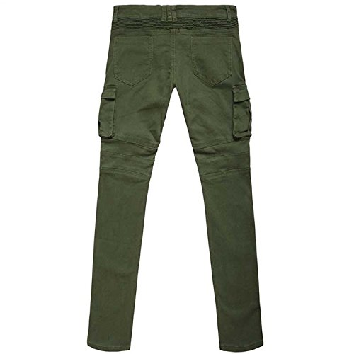 7fd66a1ce50b7 Michael Palmer Mens Outdoors Military Tactical Pants 100% Cotton Fitness  Joggers Trousers Asian Size Army Green M