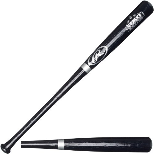 Rawlings ADR Black Ash Baseball Bat, 34-Inch ()