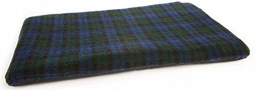 Superior P&L Pet Beds Ltd Duvets Sherpa Fleece, Large, Black Watch (Uk Furniture For Cushions Waterproof Outdoor)