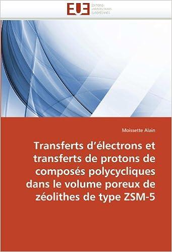 Livres Transferts d'électrons et transferts de protons de composés polycycliques dans le volume poreux de zéolithes de type ZSM-5 pdf, epub ebook