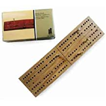 Hansen Classic Travel Wooden Folding Cribbage Game Game