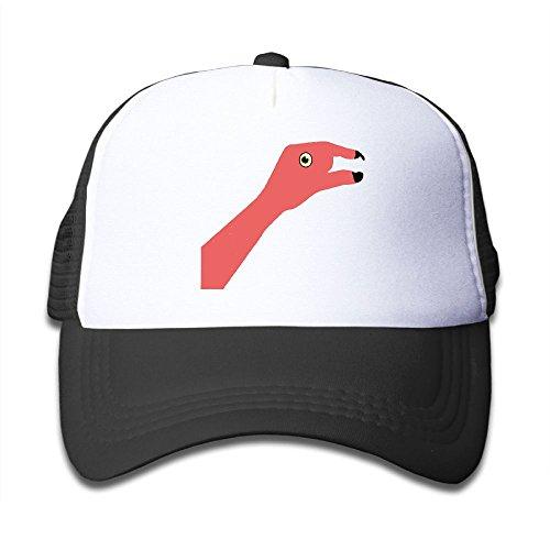 Top DNUPUP Kid's Flamingos Adjustable Casual Cool Baseball Cap Mesh Hat Trucker Caps free shipping