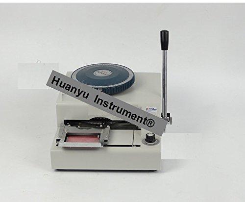 WSDM-70C PVC Card Embosser Manual Name Card Code Printer Letterpress Rotogravure Printing Machine