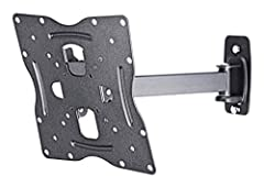"""Swivel TV Wall Mount for 17"""" - 42"""", fits most TVs up to 66 lbs. Full motion capacity let's you view your TV from anywhere in the room - swivels up to 180 degrees. Tilts to 15 degrees forward or 5 degrees back to give you ideal viewing angle w..."""