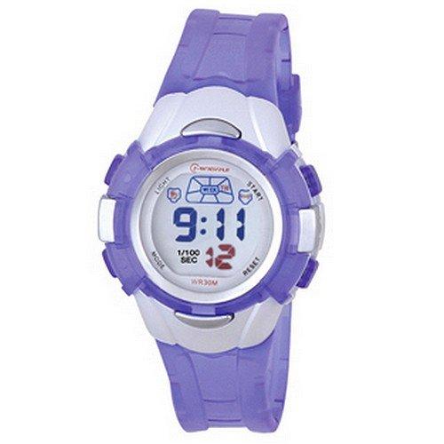 Montre Concept - Relojes digitales hombre Mingrui - Correa Plástico Púrpura - Dial Redondo Fondo Gris: Amazon.es: Relojes