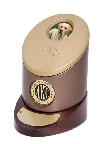Official American Kennel Club Pet Cremation Urn by Eternal Image, Inc