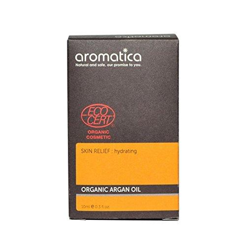 aromatica Organic Argan Oil 10ml - オーガニックアルガンオイル10ミリリットル [並行輸入品] B072DWJSCW
