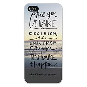 Generic Retro Vintage Case Hard Back Shell Case for iPhone 5/5s - Non-Retail Packaging - Multi